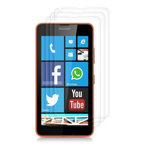 3x kwmobile film de protection pour cran microsoft lumia for Photo ecran lumia 640