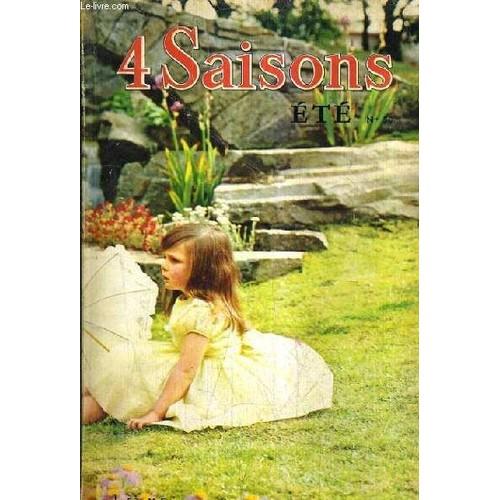 4 Saisons Ete N 50 1962 Les Robes D Ete Blanches Original Ou