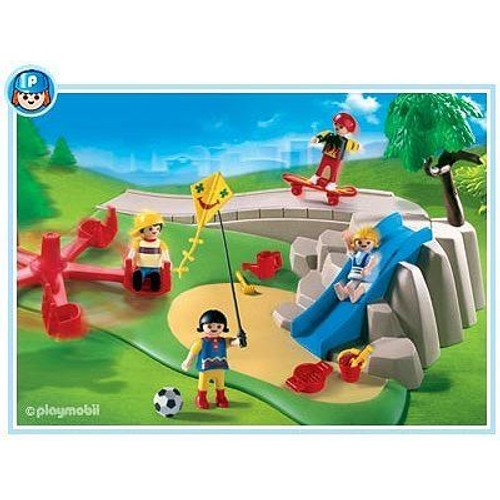 playmobil 4132 superset aire de jeux avec enfants achat et vente. Black Bedroom Furniture Sets. Home Design Ideas