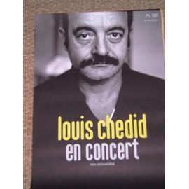 LOUIS CHEDID en concert