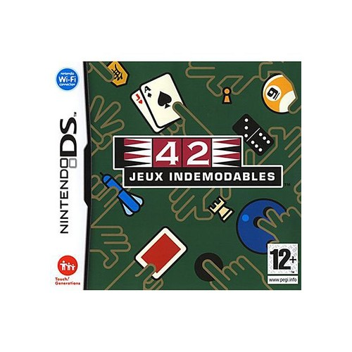 42 jeux ind modables achat vente de jeu nintendo ds. Black Bedroom Furniture Sets. Home Design Ideas