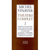 Th��tre Complet de Michel Vinaver