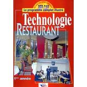 Technologie Restaurant - 1�re Ann�e de Christian Ferret