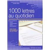 1000 Lettres Au Quotidien de Laurence De Percin