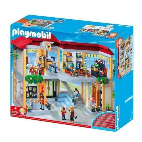 playmobil 4324 jeu de construction ecole neuf et d 39 occasion. Black Bedroom Furniture Sets. Home Design Ideas