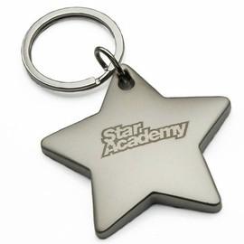 """Porte-clefs """"étoile"""" officiel STAR ACADEMY"""