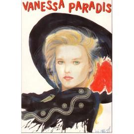 Vanessa Paradis - Carte postale PORTRAIT  par José Correa