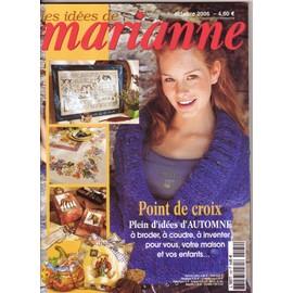 Les Id�es De Marianne N� 124 : Point De Croix Plein D'id�es D'automne