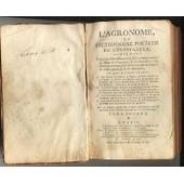 L'agronome Ou Dictionnaire Portatif Du Cultivateur M.Dcc. L.X.I. T. 2 de Damonneville