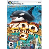 Zoo Tycoon 2: Marine Mania - Ensemble Complet - Pc - Cd ( Bo�tier De Dvd ) - Win - Fran�ais