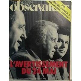Nouvel Observateur (Le) N� 654 Du 23/05/1977