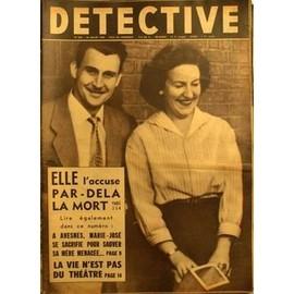 Detective N� 630 Du 25/07/1958