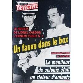 Nouveau Detective (Le) N� 186 Du 10/04/1986