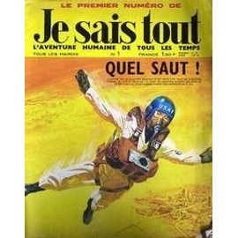 Je Sais Tout N� 1 Du 15/04/1969