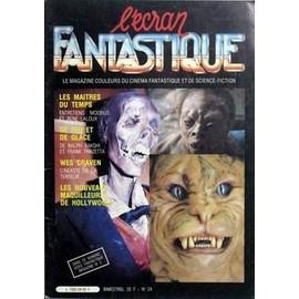 Ecran Fantastique (L') N� 24 Du 01/04/1982