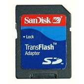 Sandisk Transflash Sd Adapter