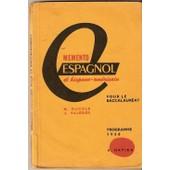Memento Espagnol Et Hispano-Am�ricain Pour Baccalaur�at de m duviols