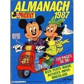 Le Journal De Mickey : Almanach 1987