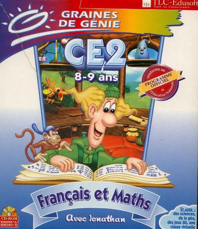 graines de genie ce2 francais math cd rom pc
