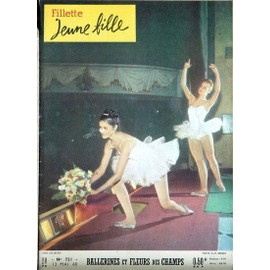 Fillette Jeune Fille N� 721 Du 12/05/1960