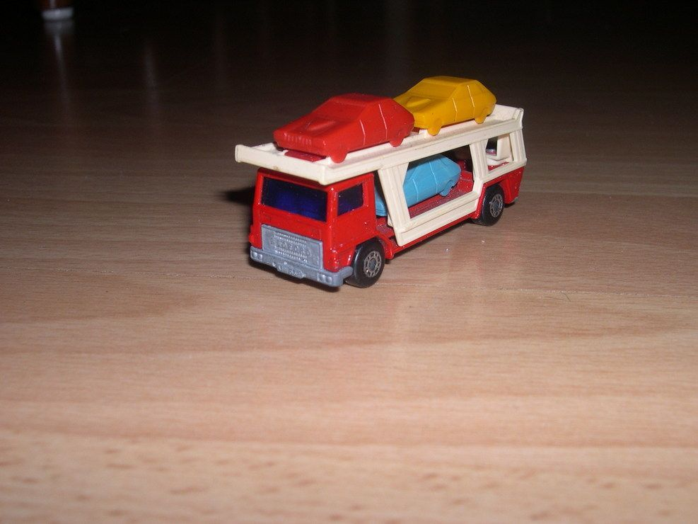 Matchbox Bedford Car Transporter 1978