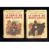 Le Comte De Monte-Cristo - Tomes 1 & 2 - Illustration De E Dufour ( Edition De 1938) de alexandre dumas