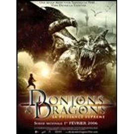 Donjons & dragons 2 - affiche originale 120 X 160 cm