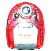 Palito Pa-298 - Mini Baladeur Radio Fm - Auto Scan - Lampe De Poche