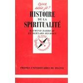 Histoire De La Spiritualit� de Raymond Darricau