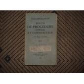 Precis De Procedure Civile Et Commerciale, 9�Me�d., Revue Et Mise � Jour Par Jean Vincent, Coll. Petits Pr�cis Dalloz de CUCHE Paul