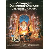 Unearthed Arcana Advanced Dongeons & Dragons de gary gygax