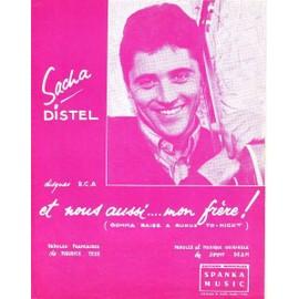 Sacha DISTEL : Et nous aussi... mon frère ! 1962