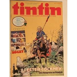 Tintin, Le Journal De Tintin N� 395 Du 5 Avril 1983