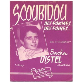 "scoubidou ""apples, peaches and cherries"" (1959) sacha distel"