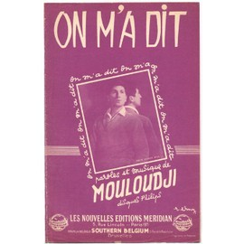 on m'a dit (1957) mouloudji