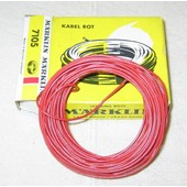 Cable �l�ctrique Rouge Marklin R�f. 7105