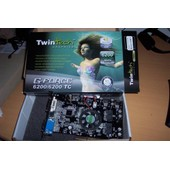 TwinTech GeForce Nvidia 6200/6200TC 256 Mo DDR2 DVI/TV AGP 8x