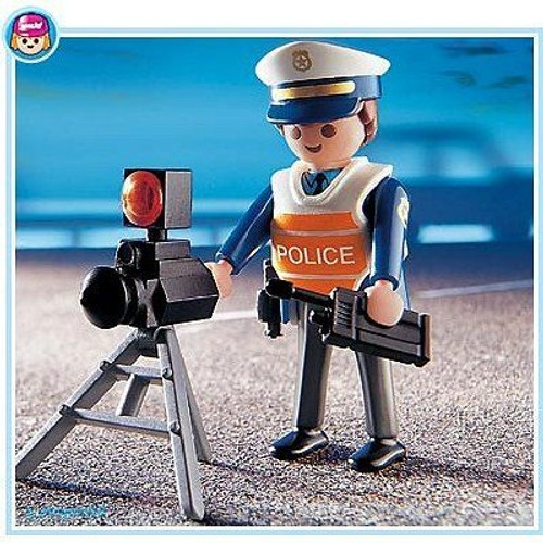 playmobil 4900 policier et radar achat vente de jouet. Black Bedroom Furniture Sets. Home Design Ideas