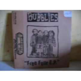 bubblies free four cd 4 titres /the head in the hole/allergic to love:no brain no headache/in the 70's (nova express)