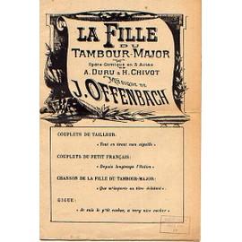 LA FILLE DU TAMBOUR MAJOR D'OFFENBACH