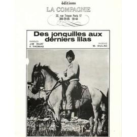 Des jonquilles aux derniers lilas - Hugues AUFRAY 1968