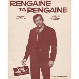 Rengaine ta rengaine - Yves MONTAND 1961