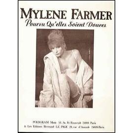 mylene farmer pourvu qu'elles soient douces partition