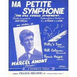 Ma petite symphonie : Marcel AMONT 1960