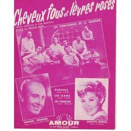 Cheveux fous et lèvres roses : Les Compagnons de la chanson 1961