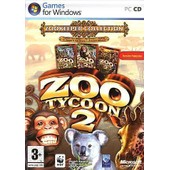 Zoo Tycoon 2: Zookeeper Collection - Ensemble Complet - Pc - Cd ( Bo�tier De Dvd ) - Win - Fran�ais