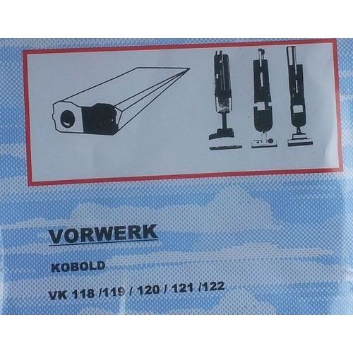 5 sacs aspirateur vorwerk vk 118 119 120 121 122 et 340. Black Bedroom Furniture Sets. Home Design Ideas
