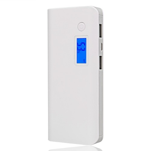 50000mah portable externe power bank 2 usb sauvegarde batterie chargeur. Black Bedroom Furniture Sets. Home Design Ideas