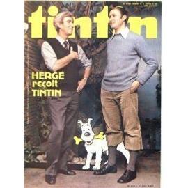 Le Journal De Tintin N� 235 : Herg� Re�oit Tintin