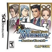 Phoenix Wright Ace Attorney Justice For All - Ensemble Complet - Nintendo Ds